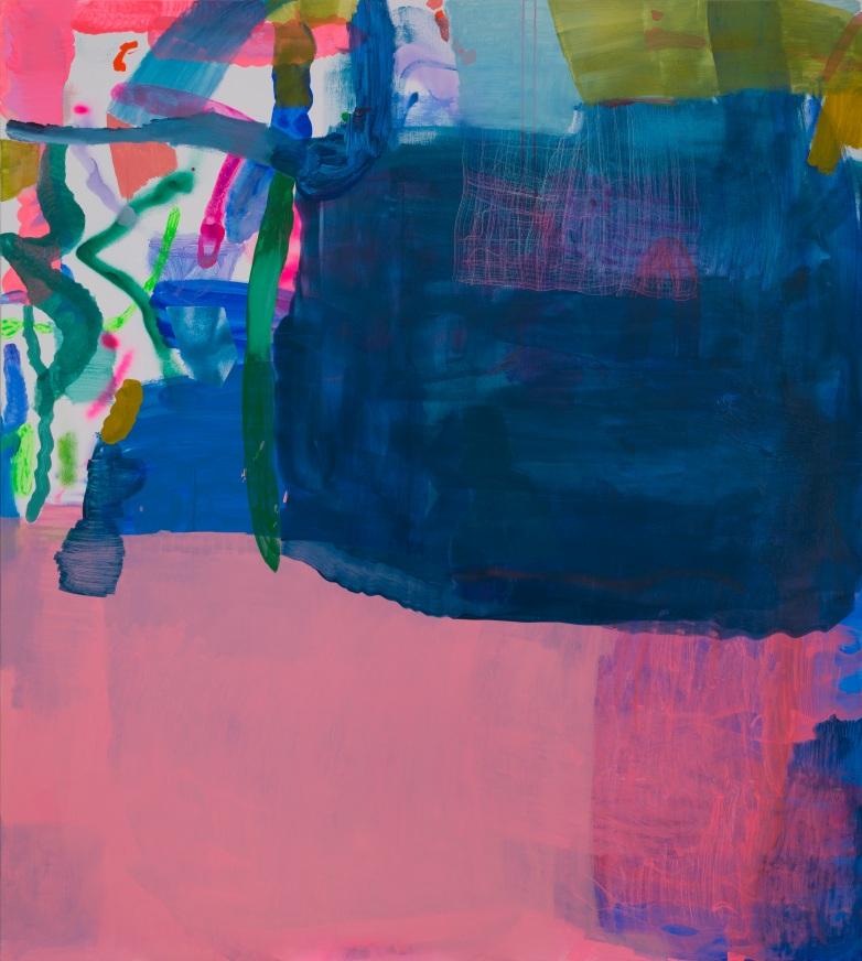 Miranda Skoczek, Tangle, oil and acrylic on linen, 153 x 137 cm